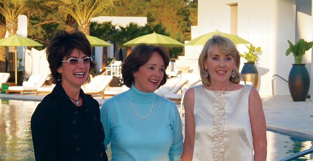 Gina Schiflett, Patricia Sister Barnes, Lisa Burwell