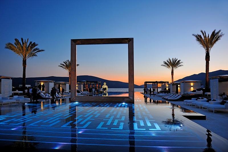 Purobeach Porto Montenegro Top Pool