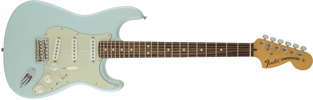 American Special Stratocaster in Sonic Blue