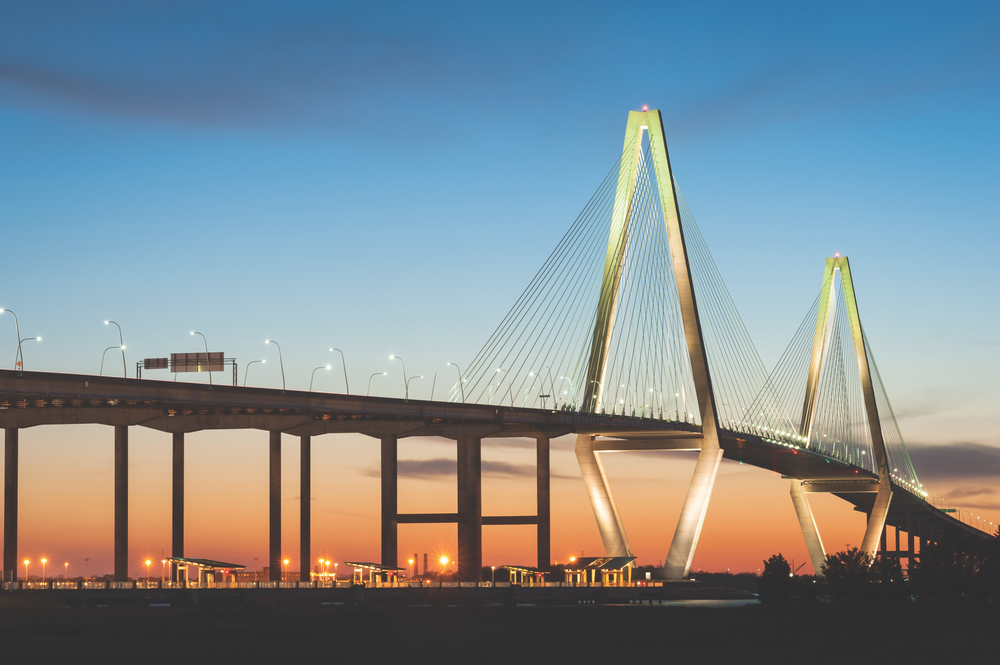 Charleston, South Carolina; Cooper River Bridge