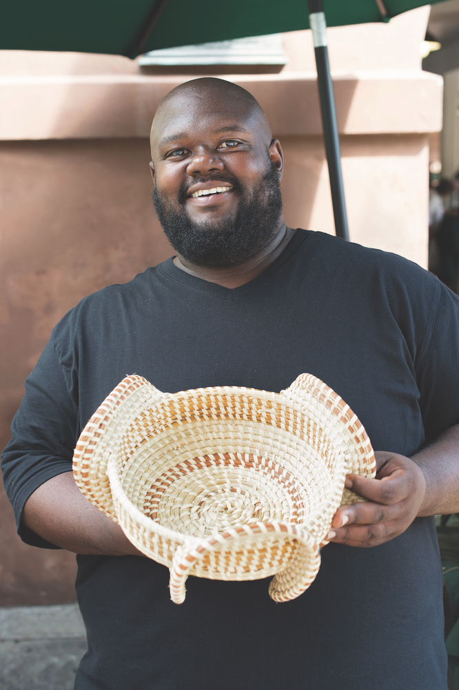 Charleston, South Carolina; gullah; sweetgrass baskets