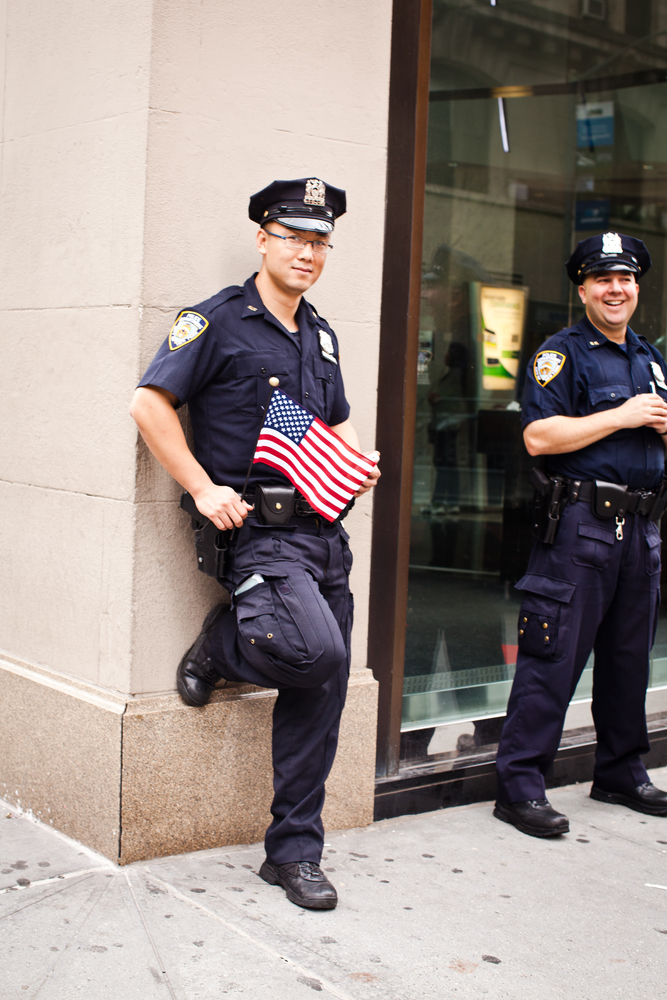 September 11; memorial; policeman