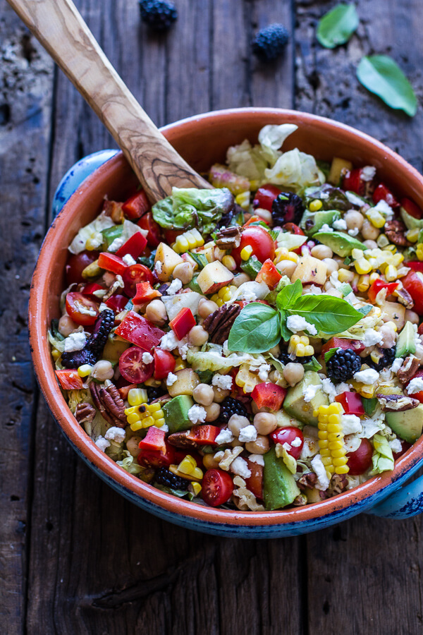 Chickpea salad recipe from half baked harvest