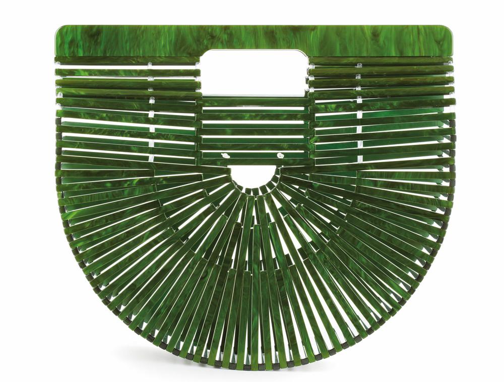 Malachite Acrylic Ark Bag green acrylic bag cest la vie adventurer 2017