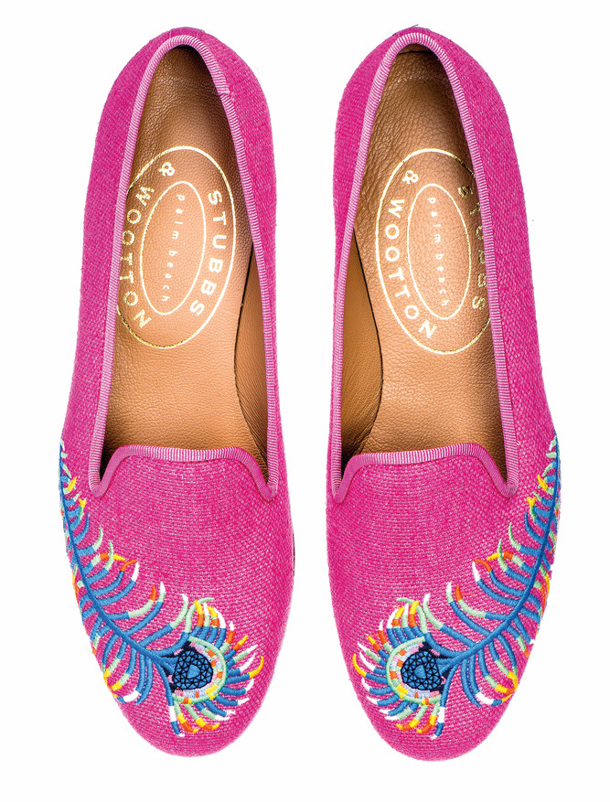Peacock Women's Slippers stubbs and wootton cest la vie 2017