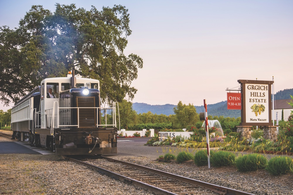 The Napa Valley Wine Train Adventure Issue 2017