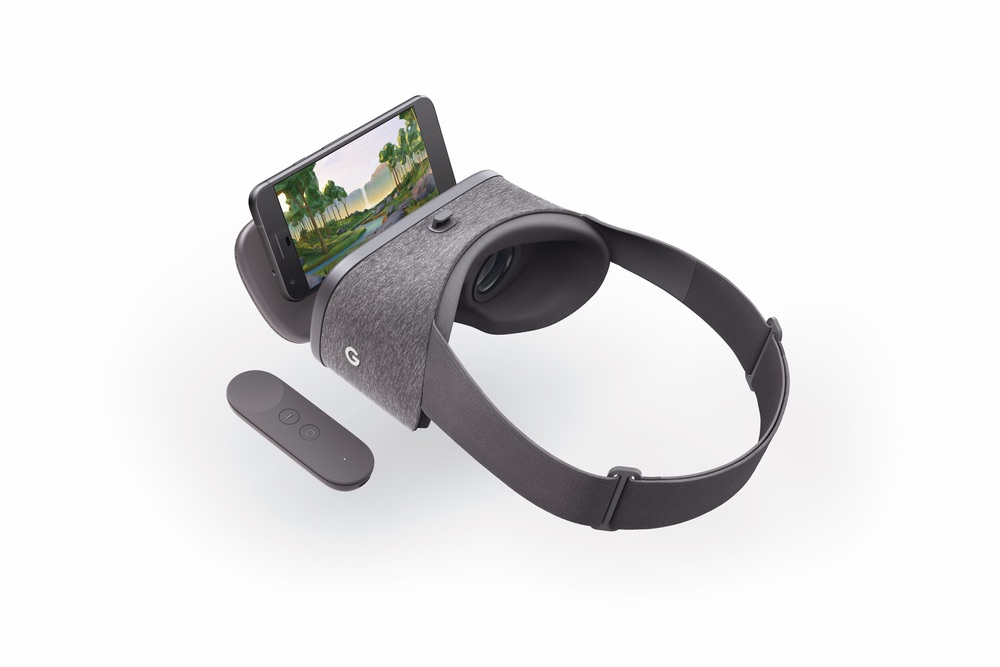 VR equipment, the Google Daydream headset