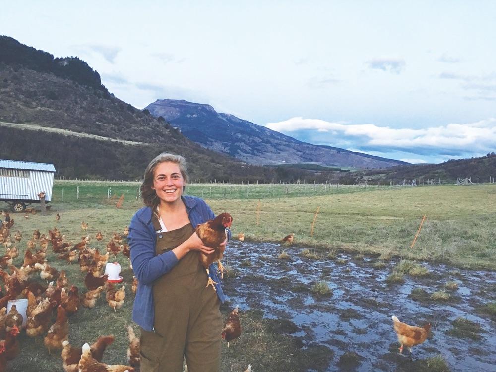 Vie magazine - Janie Locker working at a ranch near Seattle.
