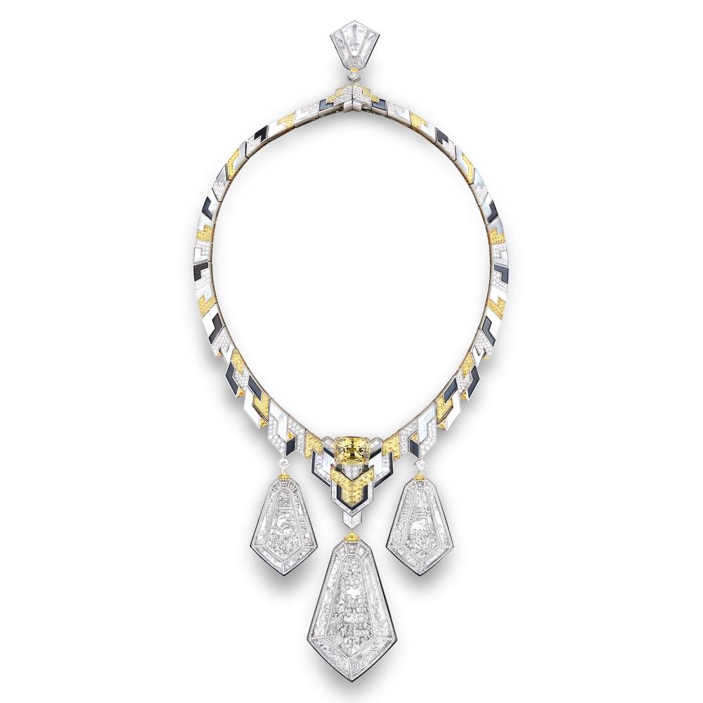 Hotel Particulier Necklace Cest La VIE Storyteller Issue Shine Bright Diamond Necklace