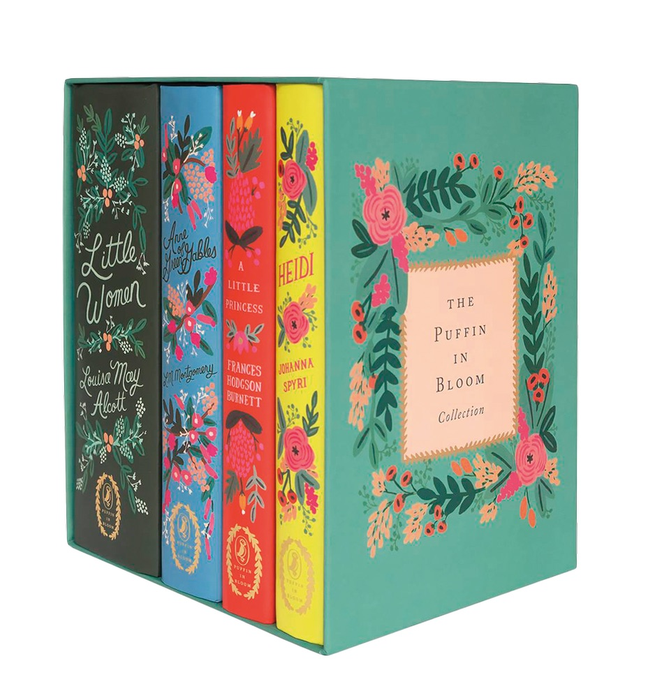 Puffin in Bloom Classic Books Collection Cest la VIE Storyteller beautiful books