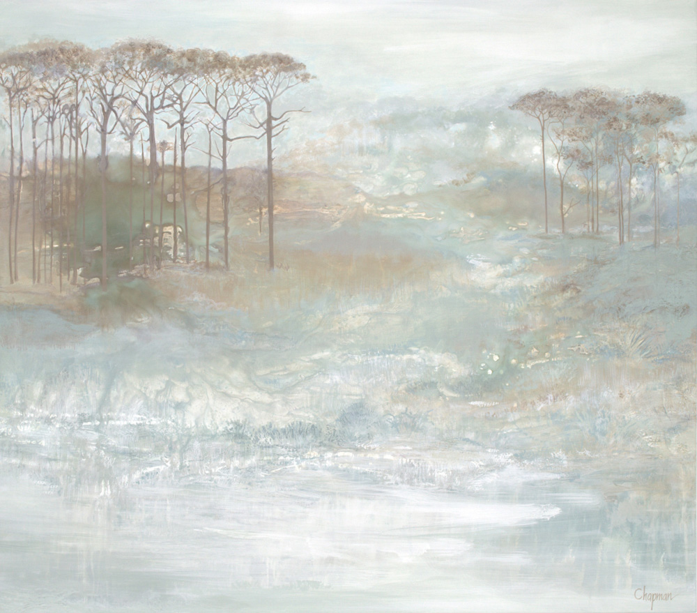 Original canvas Soft Landscapes – Coastal series by Elizabeth Chapman