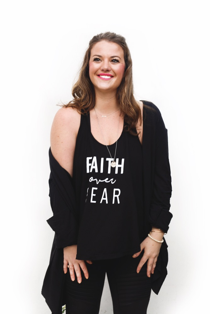 Graceful Rebel founder Cameron Merrill Faith over Fear empowering women