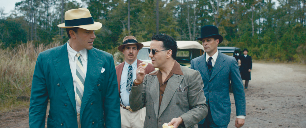 Ben Affleck, a Hampton Island homeowner, wrote, directed, and starred in Live by Night. The crime thriller also stars Sienna Miller, Zoe Saldana, Chris Cooper, Elle Fanning, Brendan Gleeson, Chris Messina, and more. Photography licensed by Warner Bros. Entertainment Inc. All Rights Reserved.