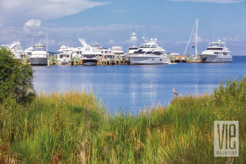 Gorgeous view from the Baytowne Marina The Village of Baytowne Wharf