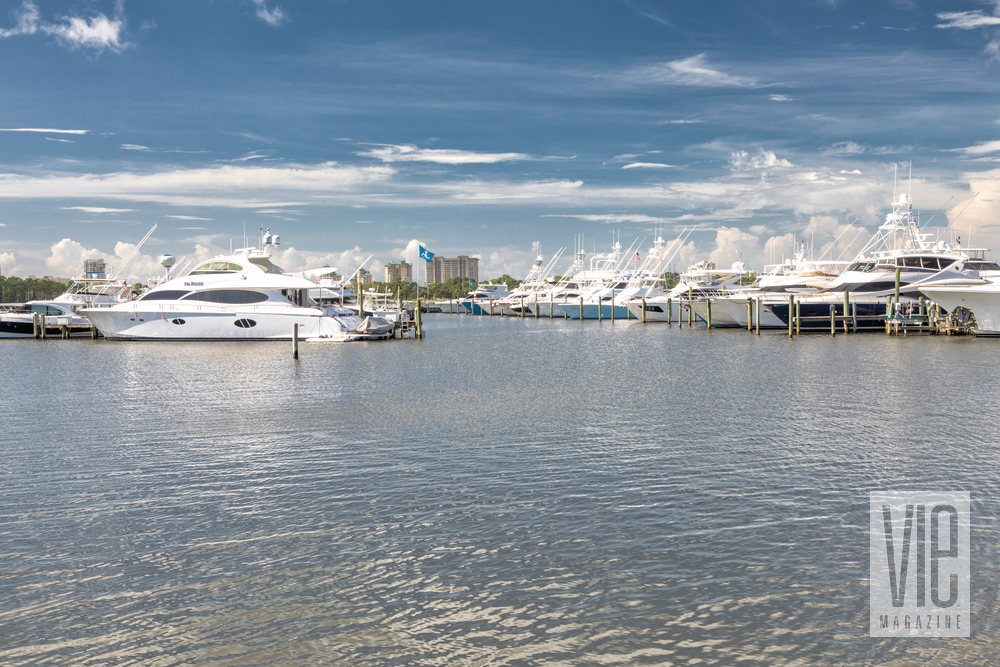 Another great view from the Marina at Baytowne Wharf VIE Magazine November 2017