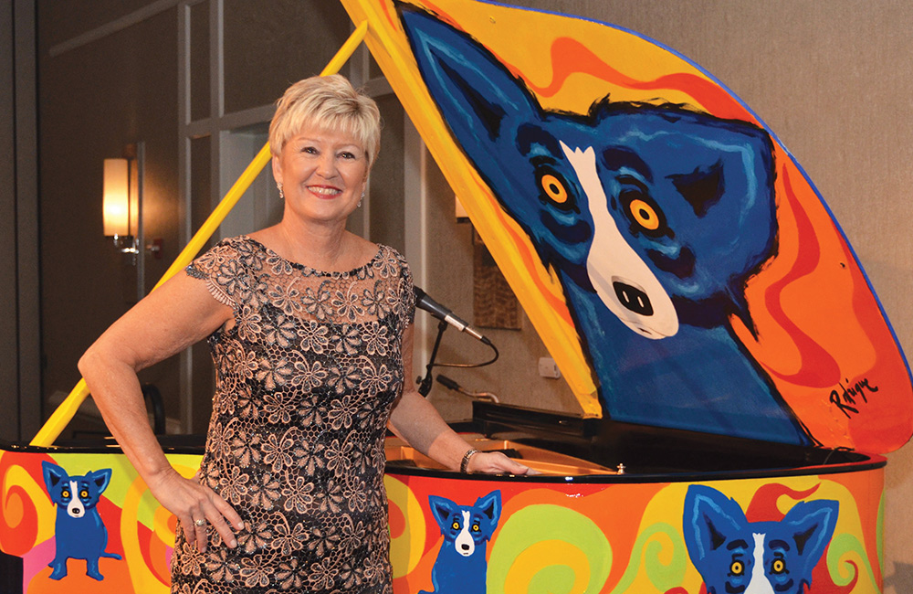 Mattie Kelly Arts Foundation; Marcia Hull; Blue Dog