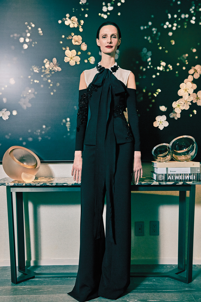 SemSem Fall/Winter 2017, Look 7 gorgeous black jumpsuit cest la vie november 2017