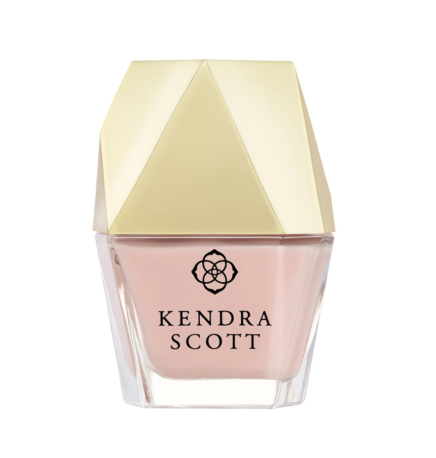 Kendra Scott Rose Quartz Nail lacquer for Breast Cancer Awareness