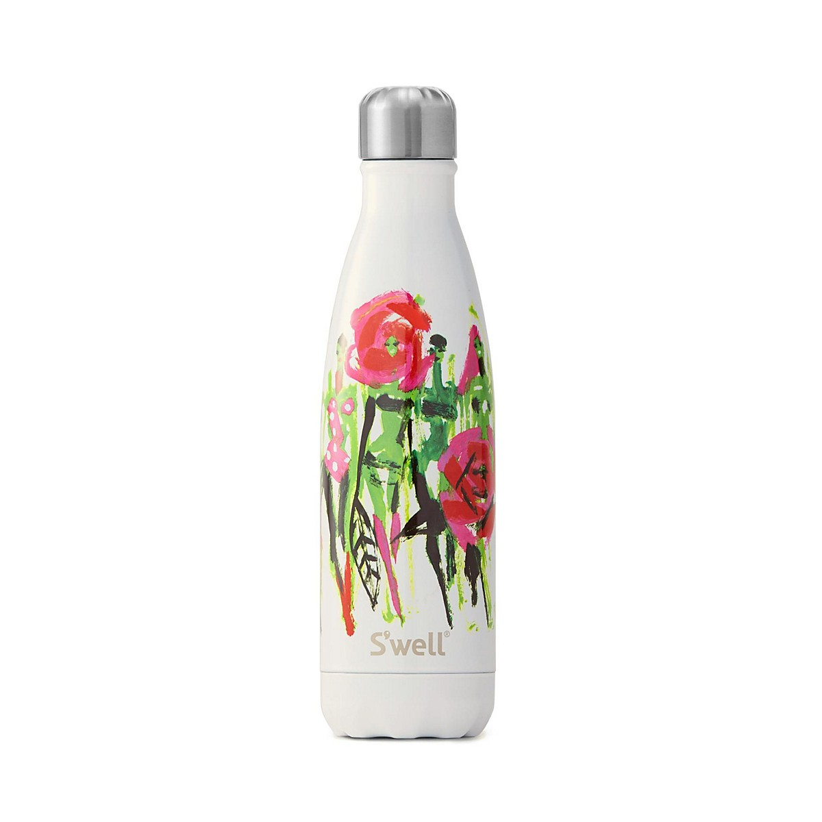 Swell Breast Cancer Awareness water bottle in Karma