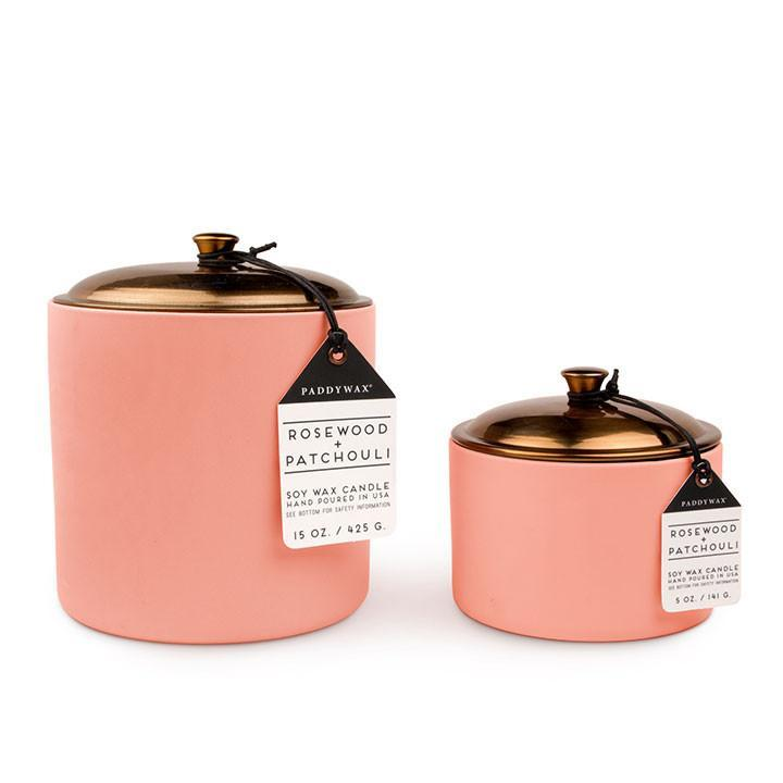 Paddywax Hygge in Rosewood candle BCA 2017