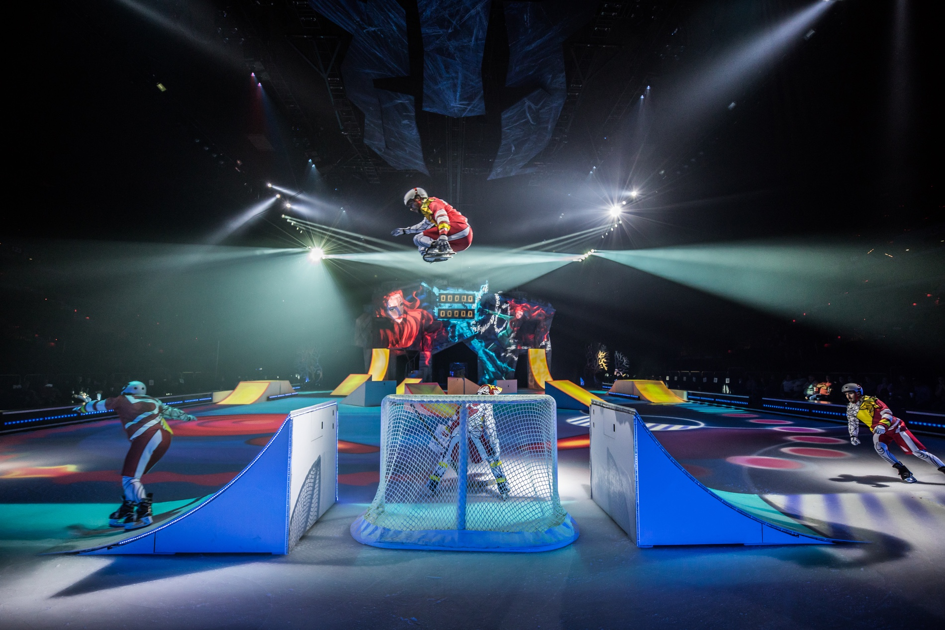 Cirque du Soleil Crystal Ice Skating Performance 2017