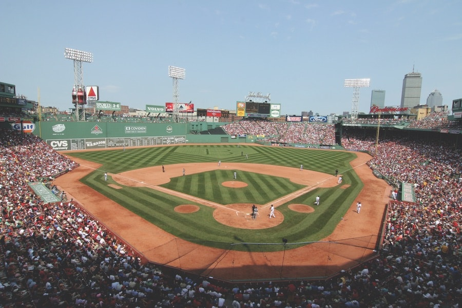 Fenway Park in Boston. VIE Magazine, The Sophisticate Issue 2017