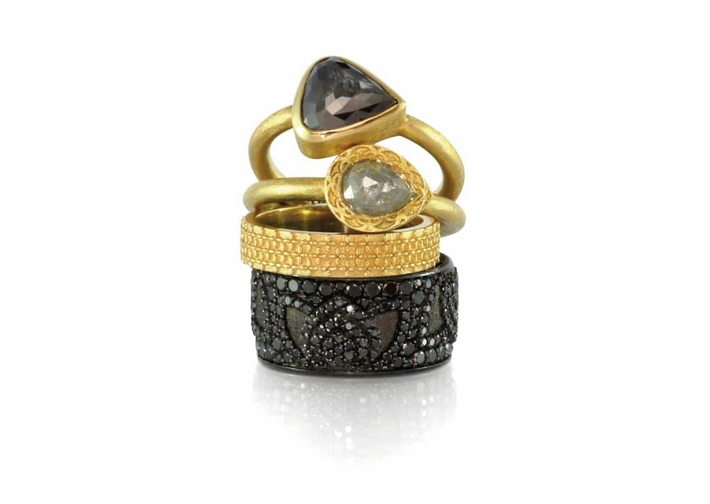 Rings to Rule Them All One of a kind cocktail rings by Luca Jouel Sophisticated is the new black