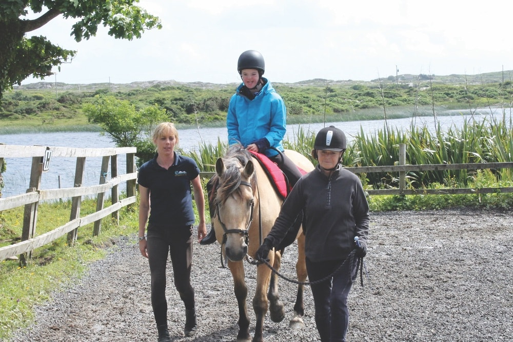 Connemara Life, Therapeutic Riding, horses