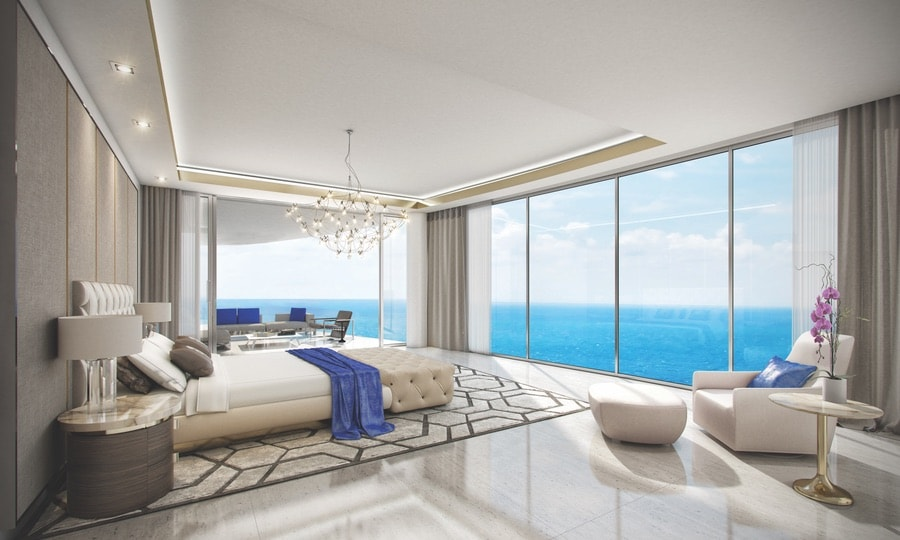 "Acqualina's new ""estates in the sky"" in Miami Florida."