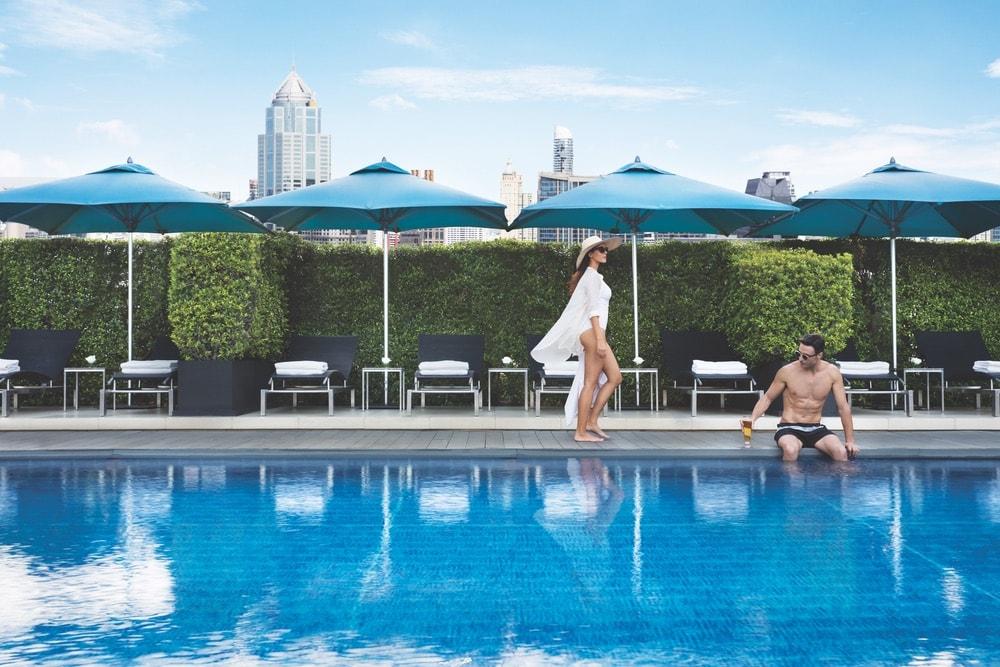 Bangkok Top Spas; Thailand; Sofitel Bangkok Sukhumvit; pool