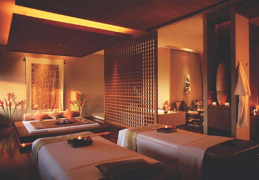 Bangkok Top Spas; Thailand; Shangri-La Hotel; massage room