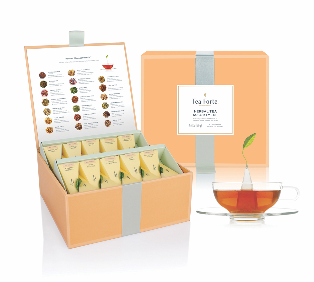 Tea Forté Tea Chest Herbal Assortment C'est la VIE Health and Beauty 2017