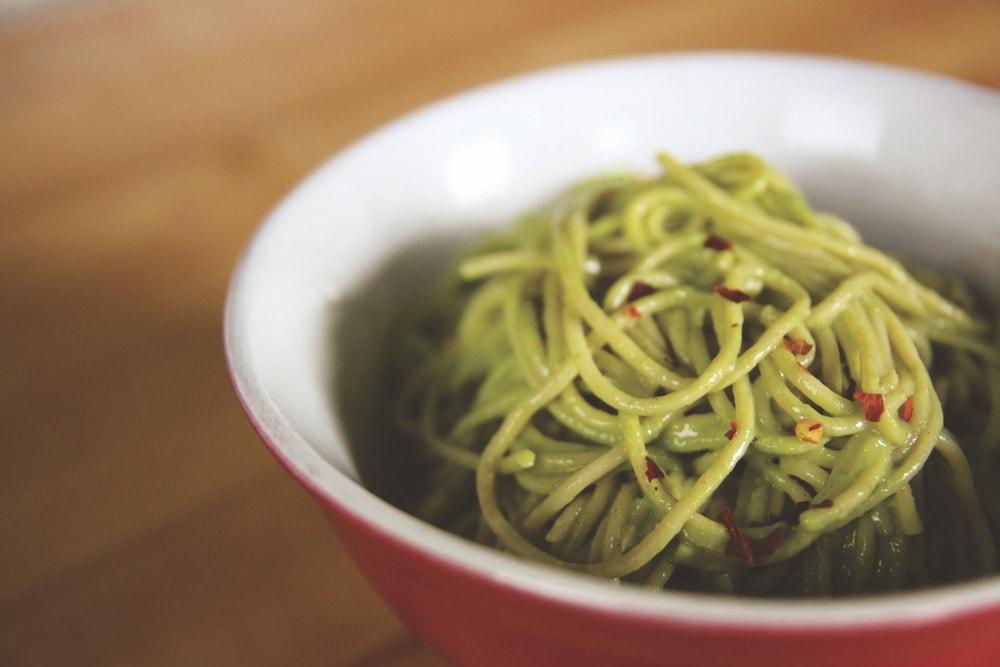 The Vegetarian Baker; vegetables; vegan kale avocado pesto