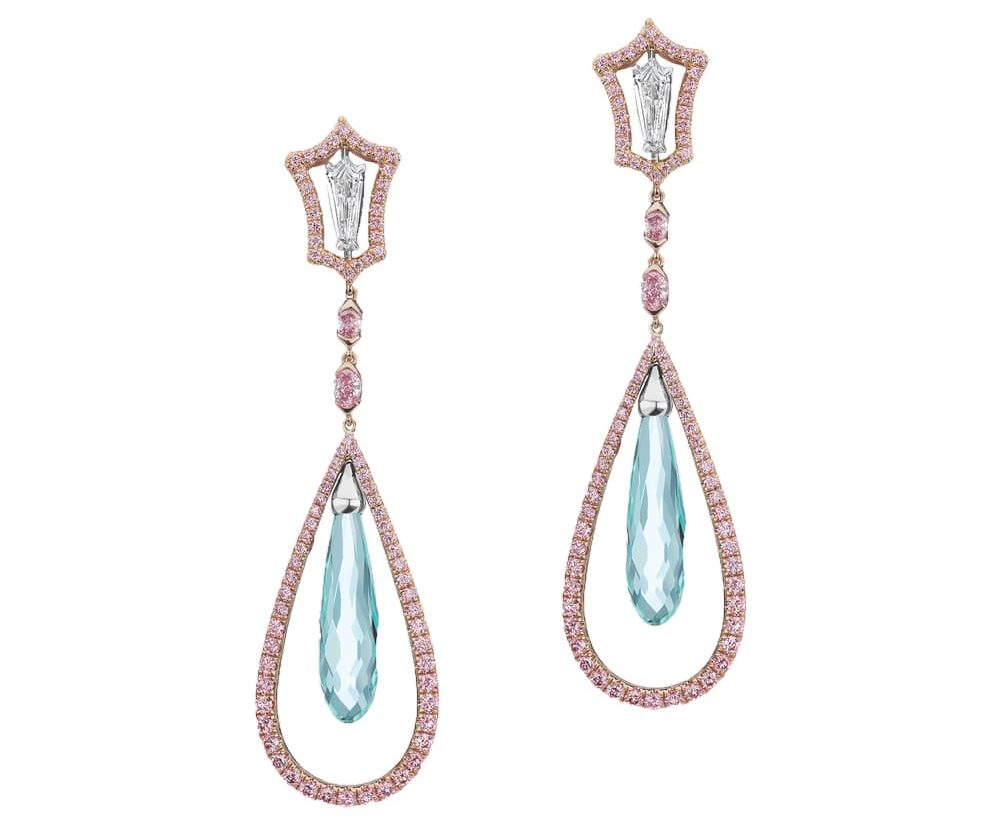 JFINE Argyle Mint Tourmaline Drop Earrings VIE Magazine Destination Travel Cest la VIE Special Valentine's Day Edition 2018