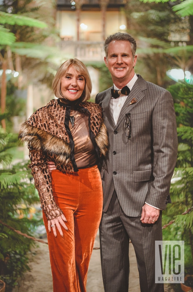 Lisa and Jerry Burwell at the Stories with Heart & Soul Tour Boston event VIE Magazine Editor in Chief Destination Travel 2018
