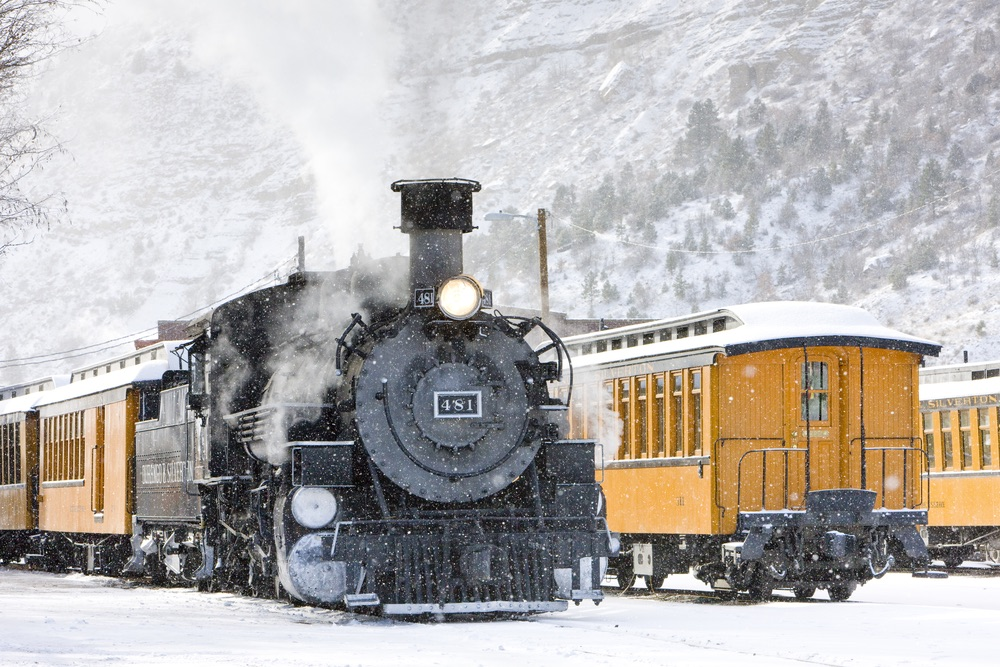 Christmas getaways, Durango, Colorado, Durango Colorado, Silverton Train, Polar Express