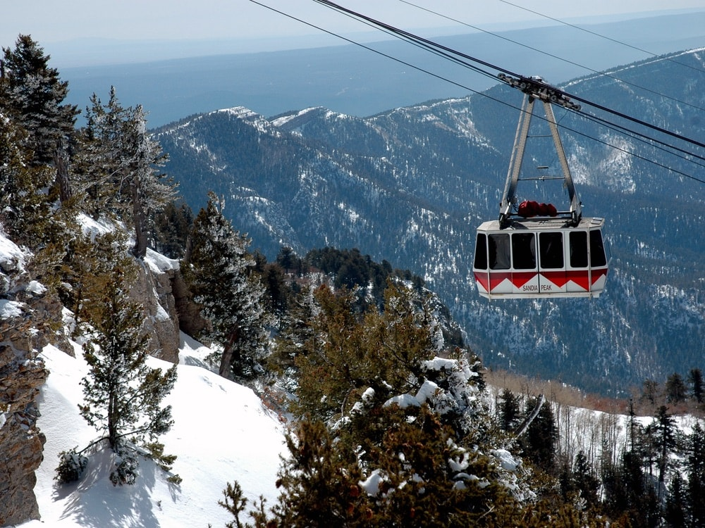 Sandia Tramway in Albuquerque, New Mexico