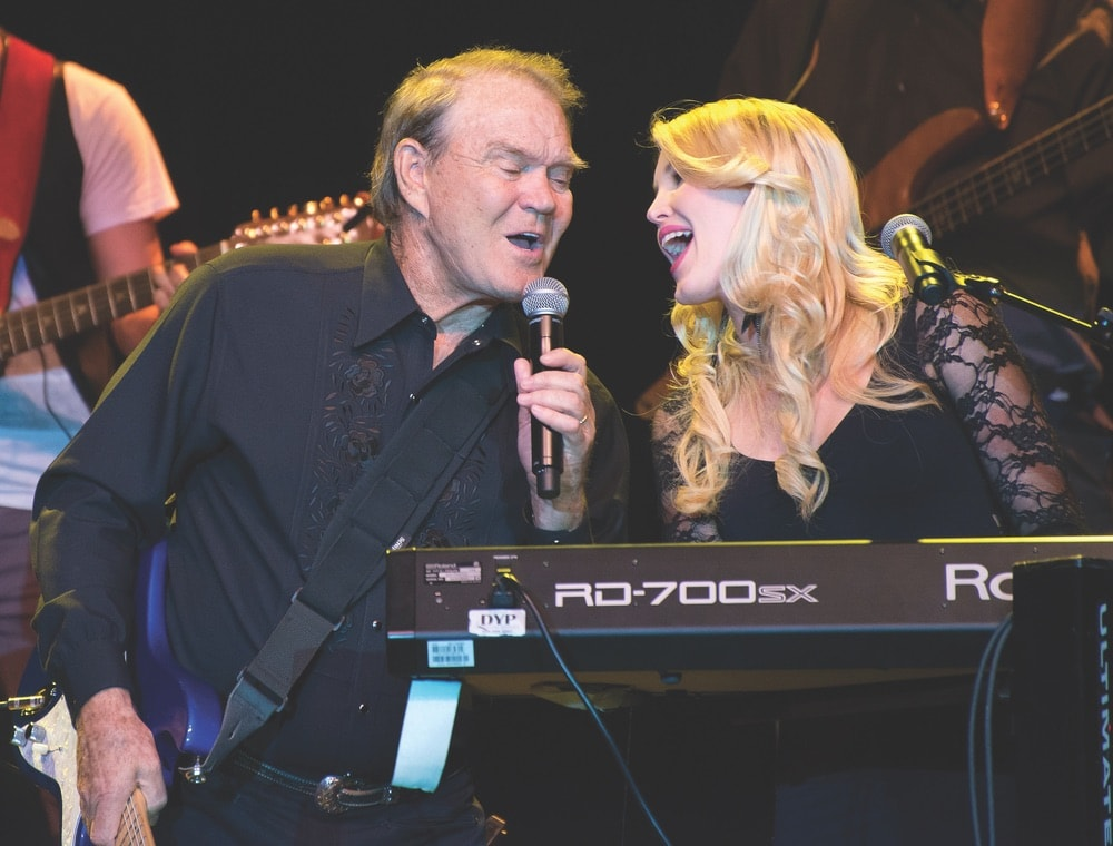 Ashley Campbell; Glen Campbell; 2012 Goodbye Tour; Albuquerque, New Mexico