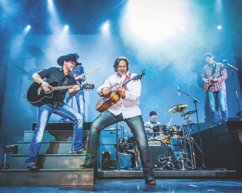 Billy Dean and the Steel Horses rock the stage in Branson, Missouri. Photo courtesy of Branson CVB