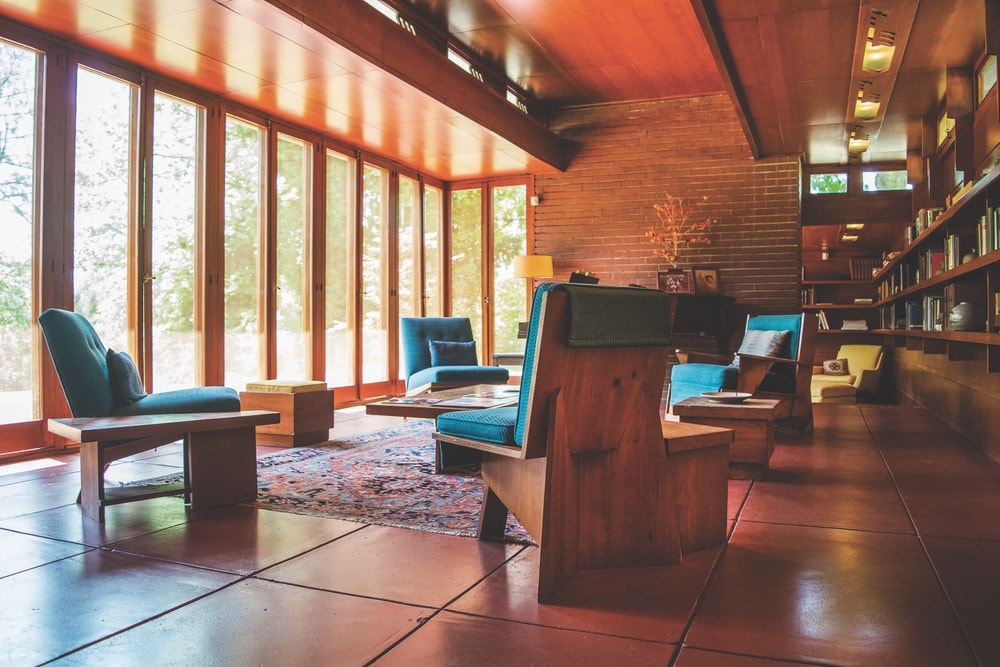 Florence, Alabama; Rosenbaum House; Frank Lloyd Wright