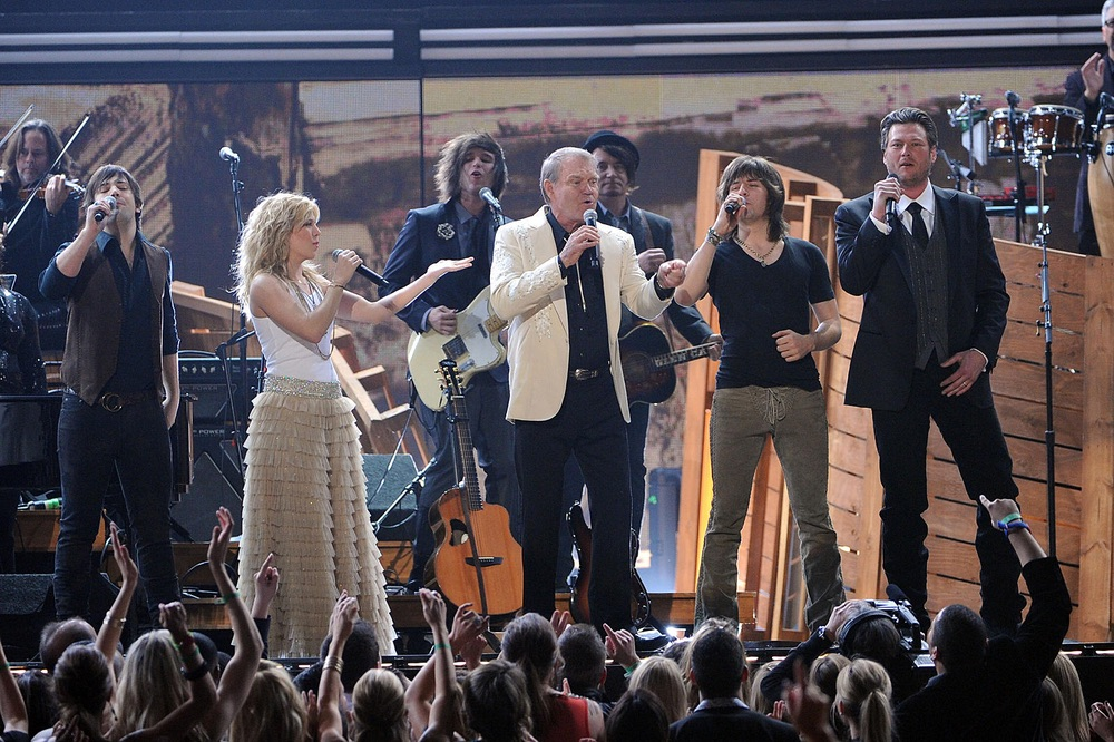 The Band Perry, Glen Campbell, Blake Shelton, Grammy Awards