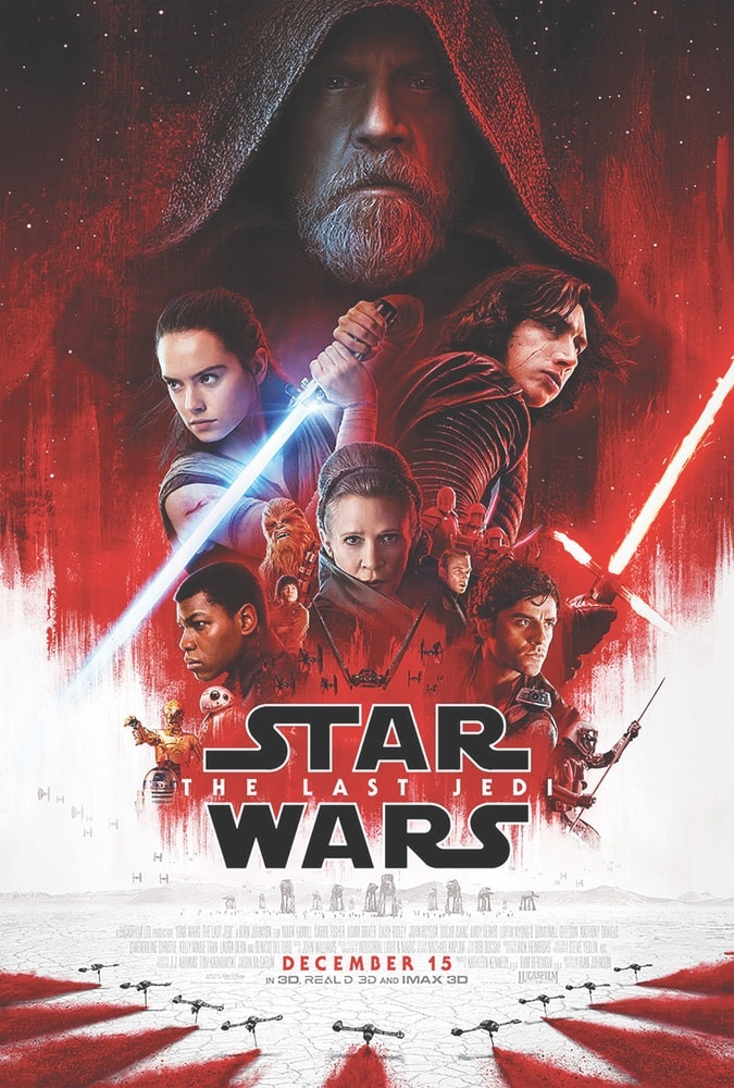Star Wars: The Last Jedi, VIE Magazine March 2018