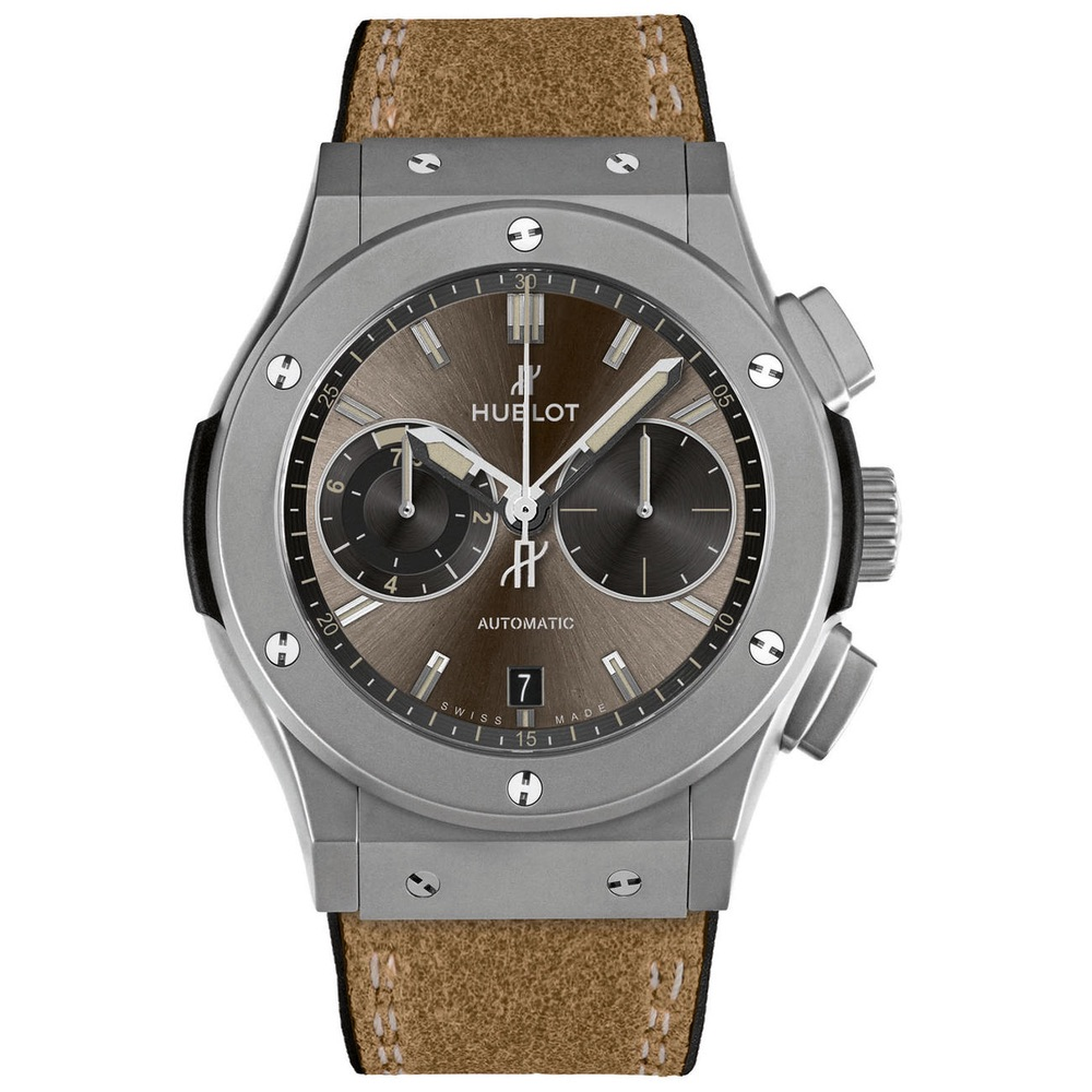 Hublot Classic Fusion Chukker Limited Edition Titanium Grey Dial Unisex Watch