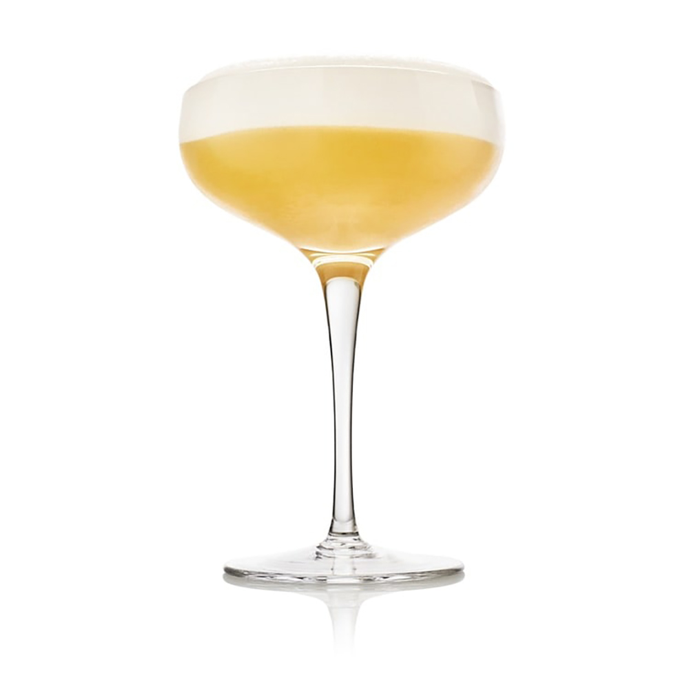 Single Whiskey Sour cocktail