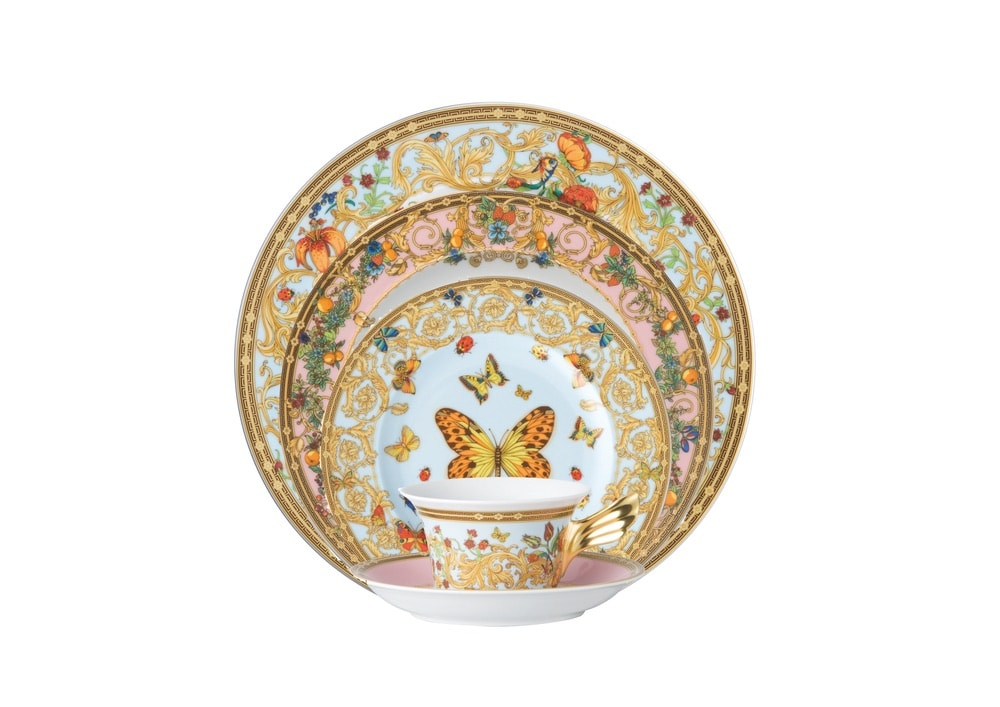 Versace Butterfly Garden Five-Piece Place Setting