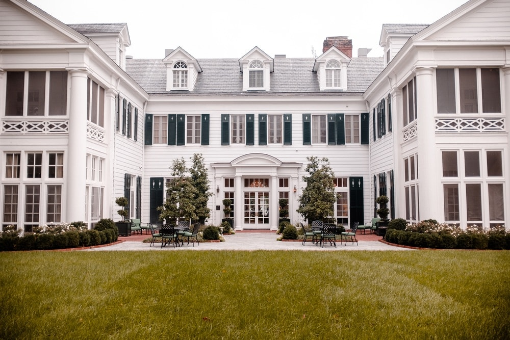 Duke Mansion in Myers Park in Charlotte, North Carolina