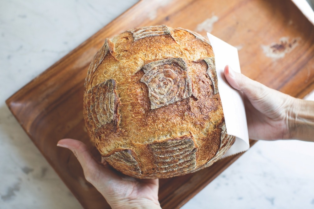 Fresh bread from Black Bear Bread Co.