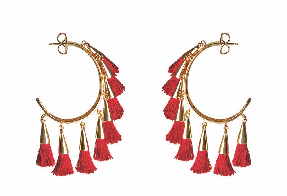 Mignonne Gavigan Paloma Tassel Earrings