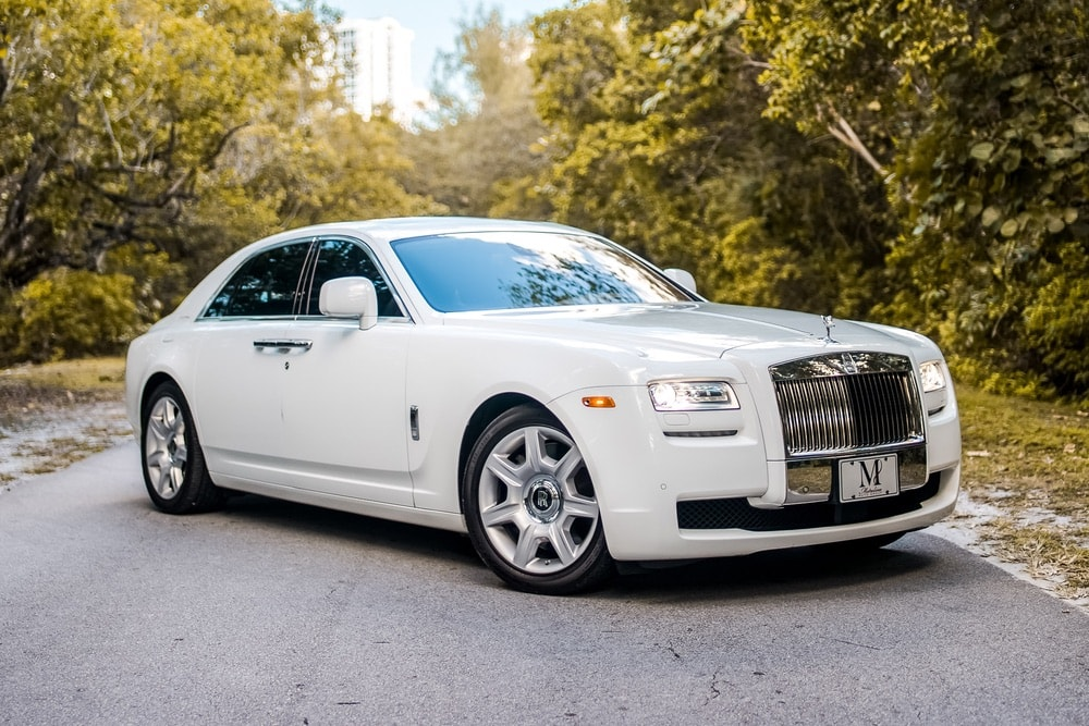 Rolls Royce Ghost Series II White