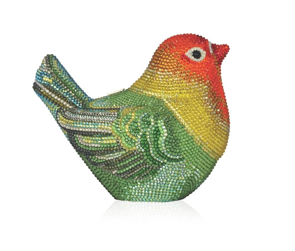 Judith Leiber Love Bird Minaudière Clutch